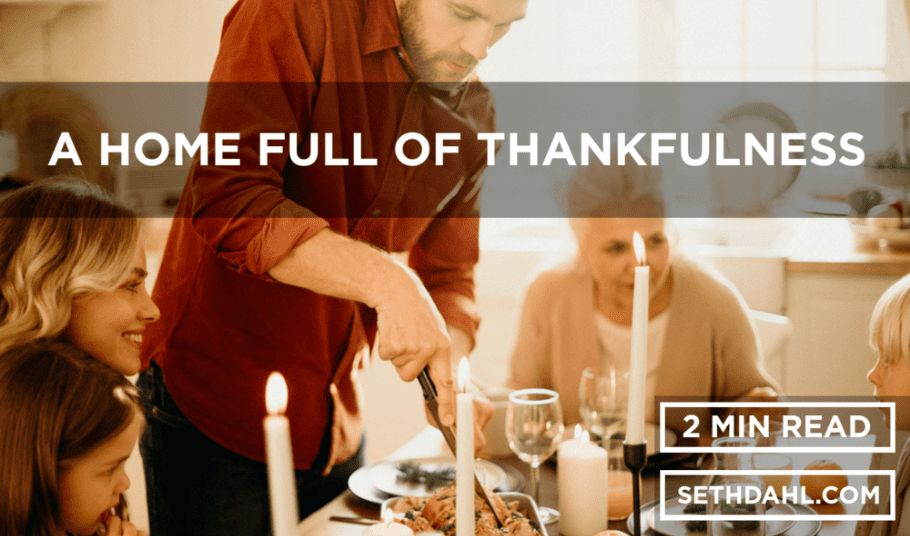 GUEST BLOG: A Home Full of Thankfulness